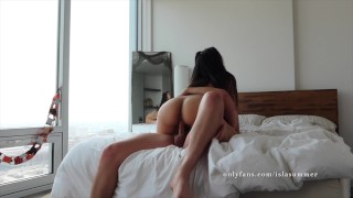 Big Tit Asian In Pigtails Gets And Creampied